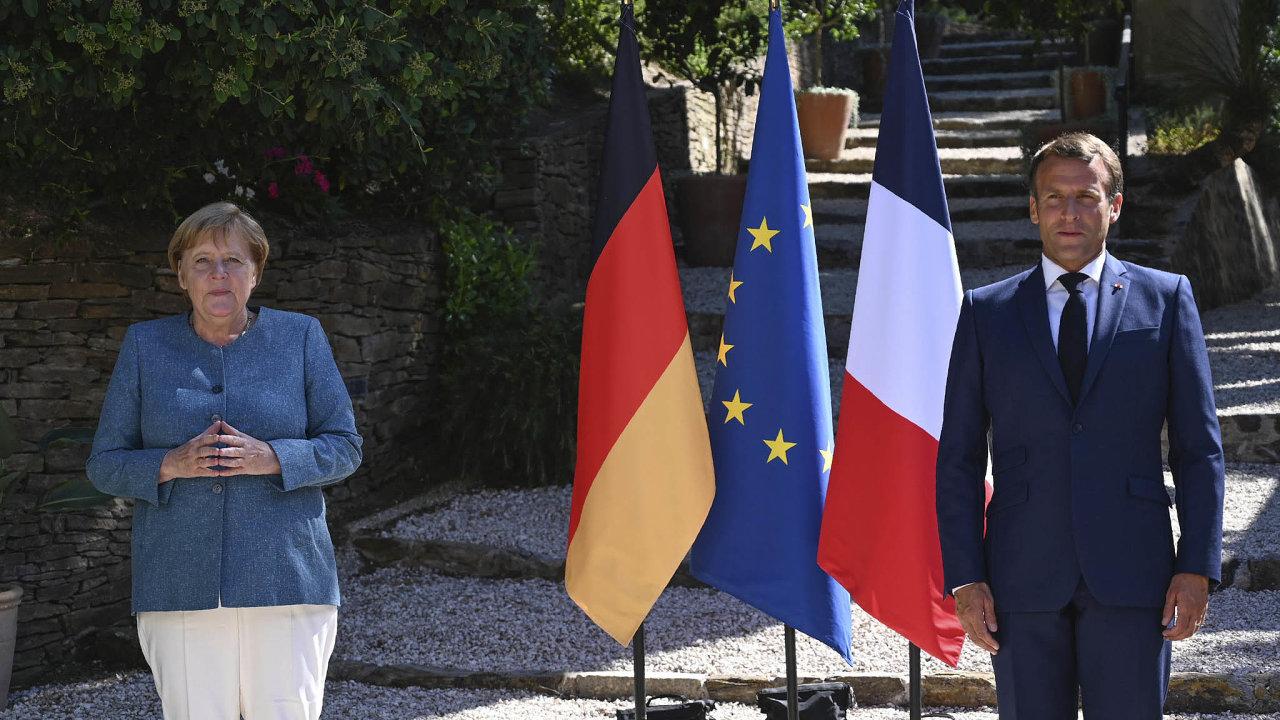 Fakt, že Němci aFrancouzi zůstávají těmi nejbližšími spojenci, oba politici potvrdili navčerejší schůzce vpevnosti Brégancon najižním pobřeží Francie.