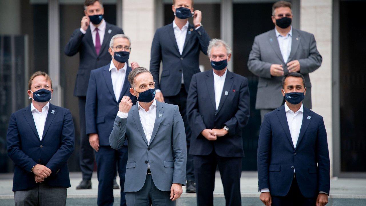 Ministři zahraničí zemí EU jednali v pátek v Berlíně.