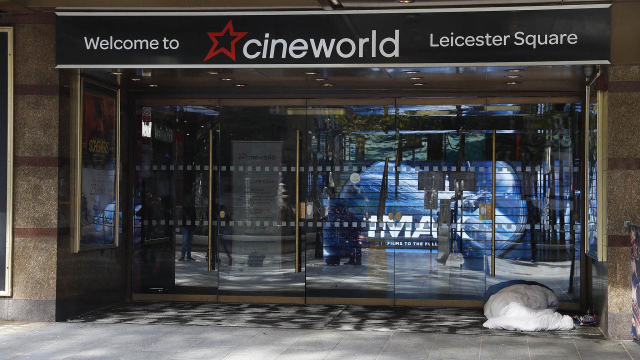 Cineworld je druhým největším provozovatelem kin nasvětě.