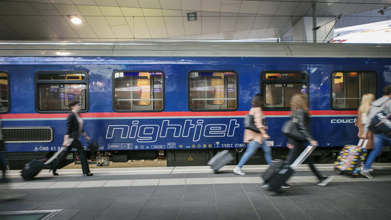 Evropský byznys nočních vlaků ovládají rakouské ÖBB, které provozují vlaky pod značkou Nightjet