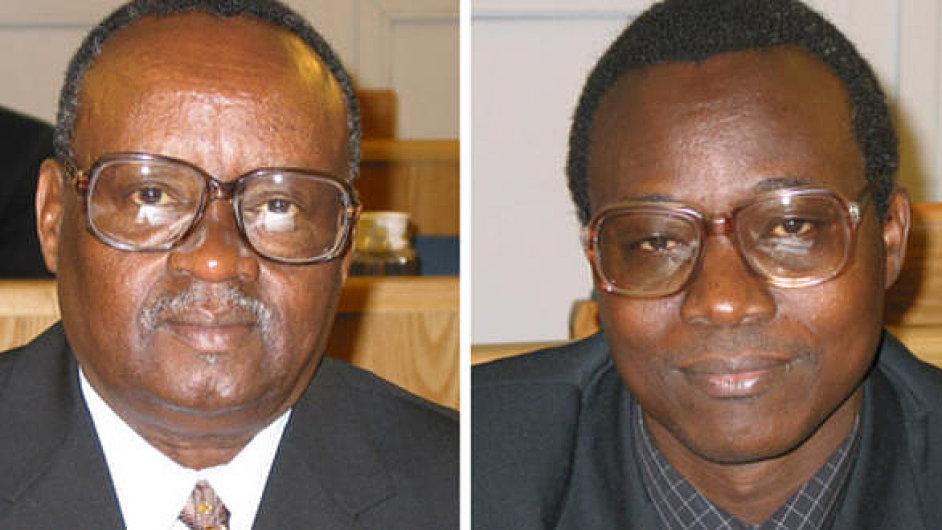 Odsouzení bývalí ministři Rwandy