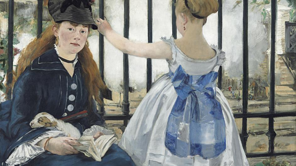 Edouard Manet: Železnice, 1873