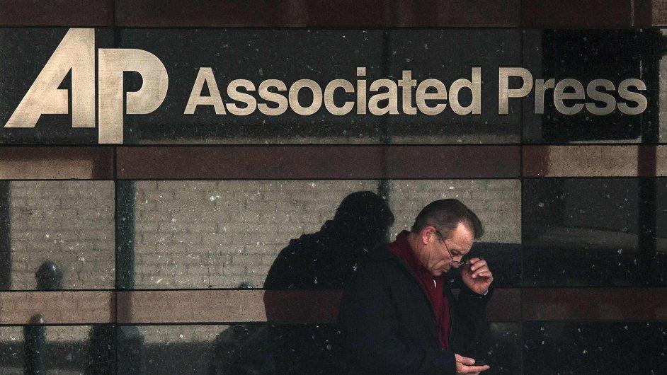 Sídlo AP v New Yorku.