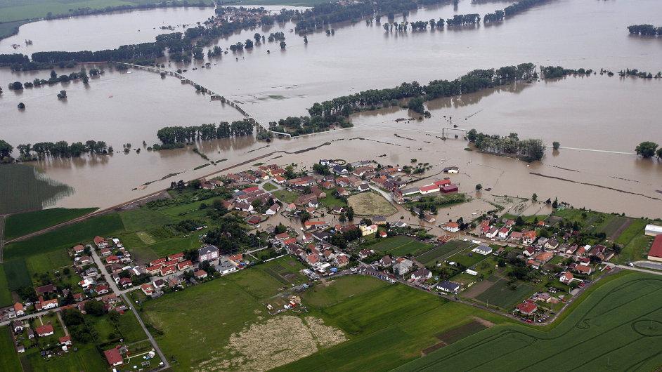 Zálezlice postihly i záplavy v roce 2013.