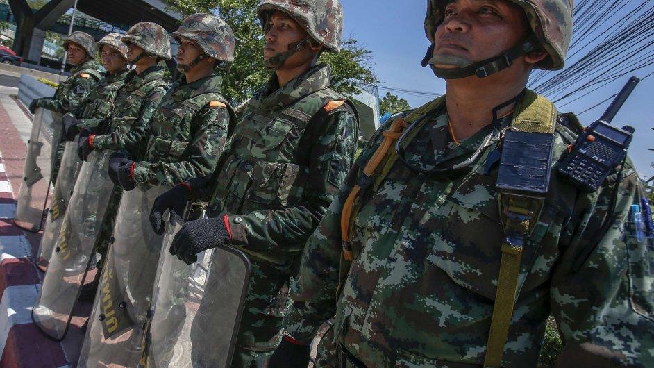 Thajská armáda provedla v zemi převrat