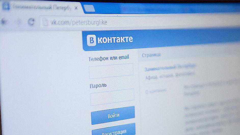Vkontaktě je největší ruskojazyčnou sociální sítí.