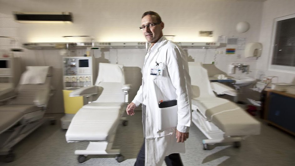 Pavel Jindra, šéf národního registru dárců kostní dřeně