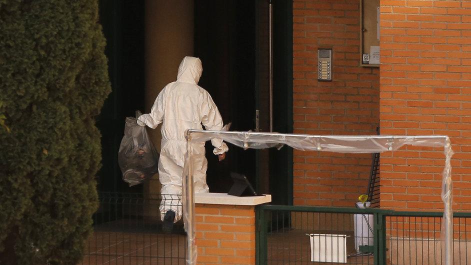 Opatření ve španělské nemocnici