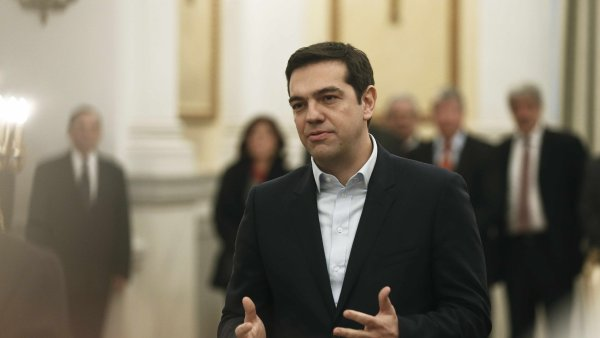 Předseda strany Syriza a nový řecký premiér Alexis Tsipras (ilustrační foto)