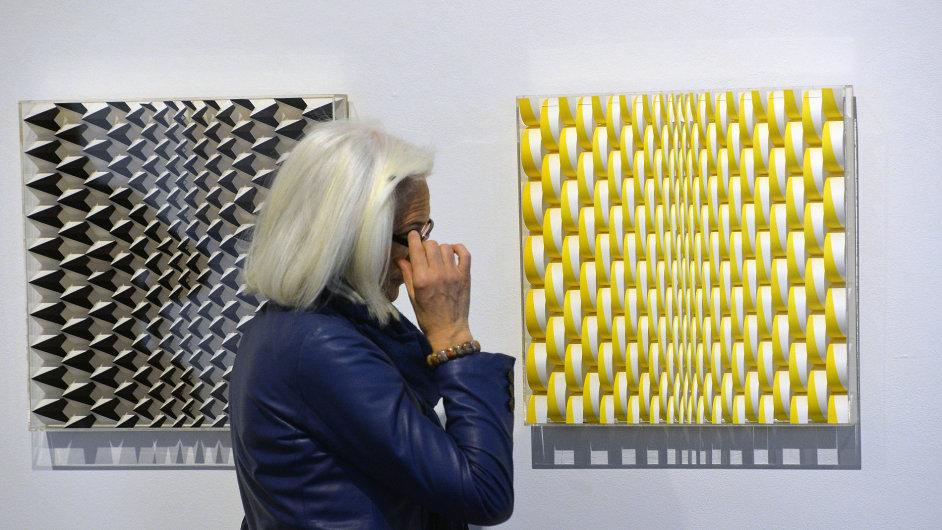 Snímky z výstavy Jiřího Hilmara