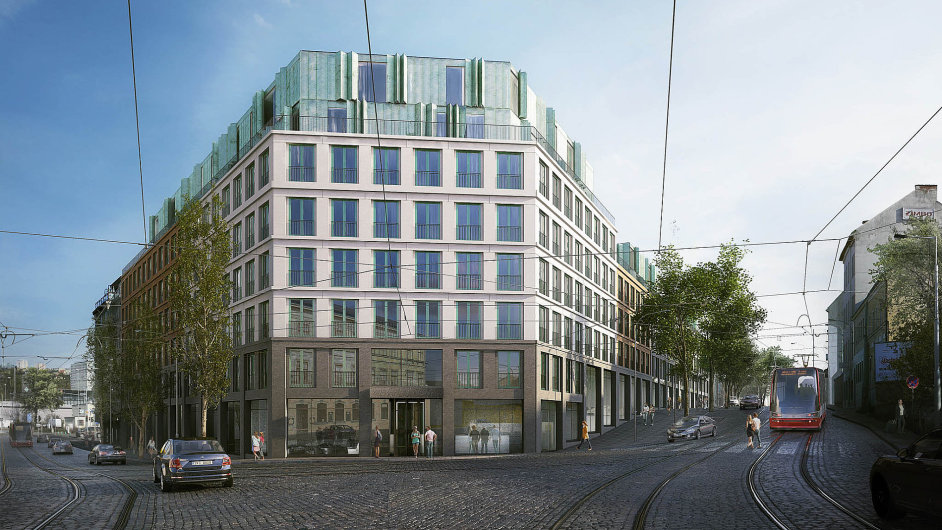 V Praze-Holešovicích plánuje developer Karlín Group apartmánový dům pro studenty