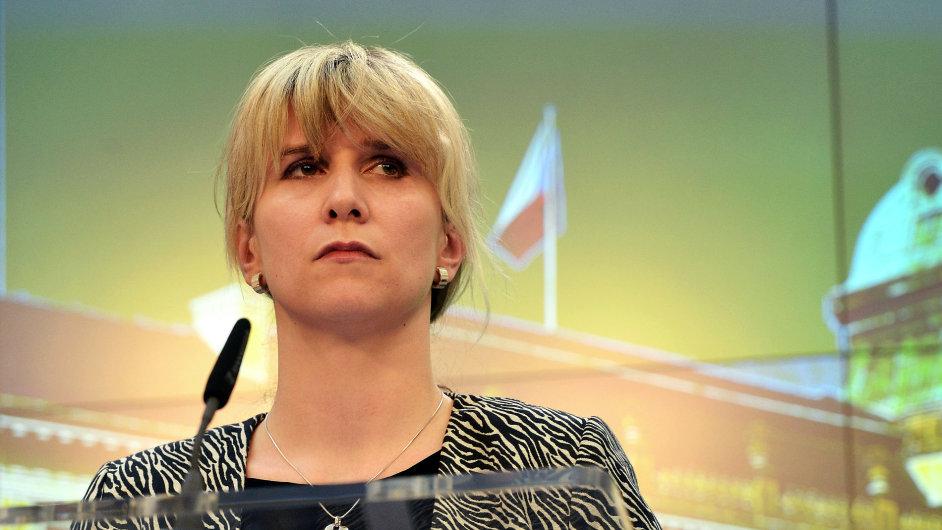 Nová ministryně školství? Náměstkyně ministra pro legislativu a lidská práva Kateřina Valachová