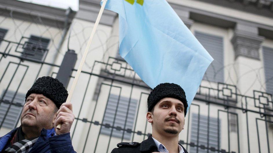 Krymští Tataři vyhrožují Krymu absolutní izolací - Ilustrační foto.