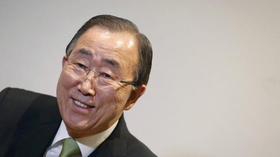 """Generální tajemník Pan Ki-mun o klimatické dohodě 195 zemí napsal: """"Co bylo kdysi nemyslitelné, stalo se nyní nezastavitelným."""""""