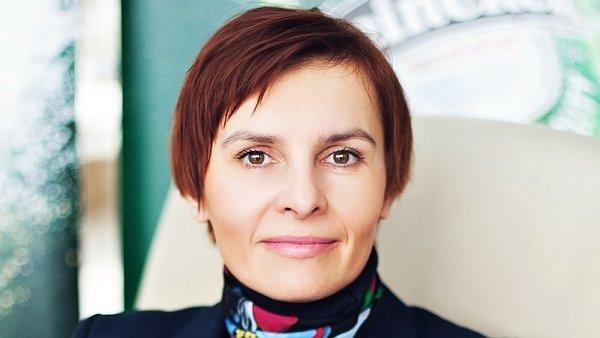 Zuzana Železníková, generální ředitelka společnosti HEINEKEN Česká republika