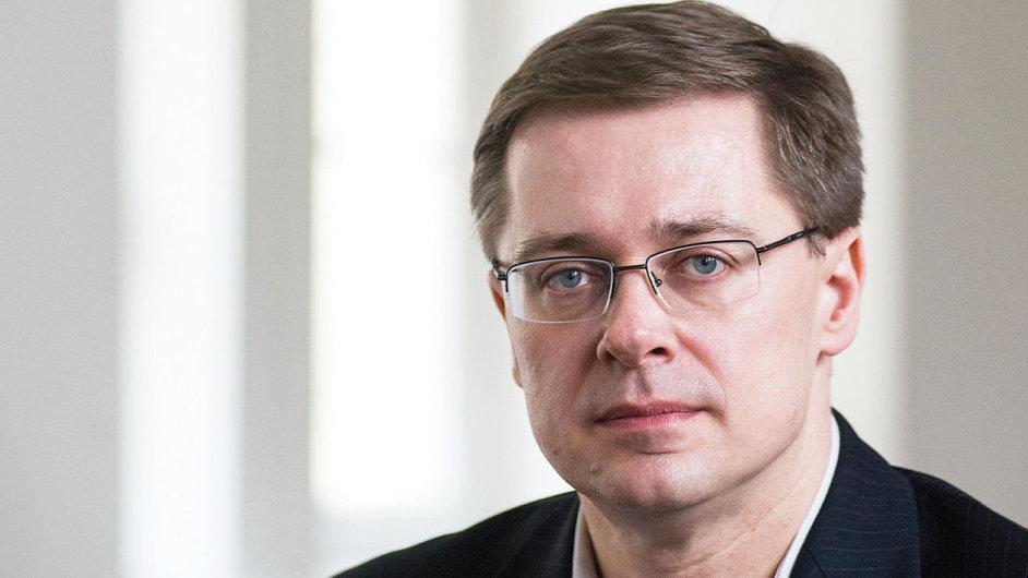 Sociolog Michal Vašečka. Foto: Matěj Stránský