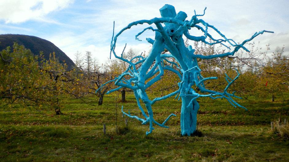Umělecký styl Land art v galerii nehledejte.