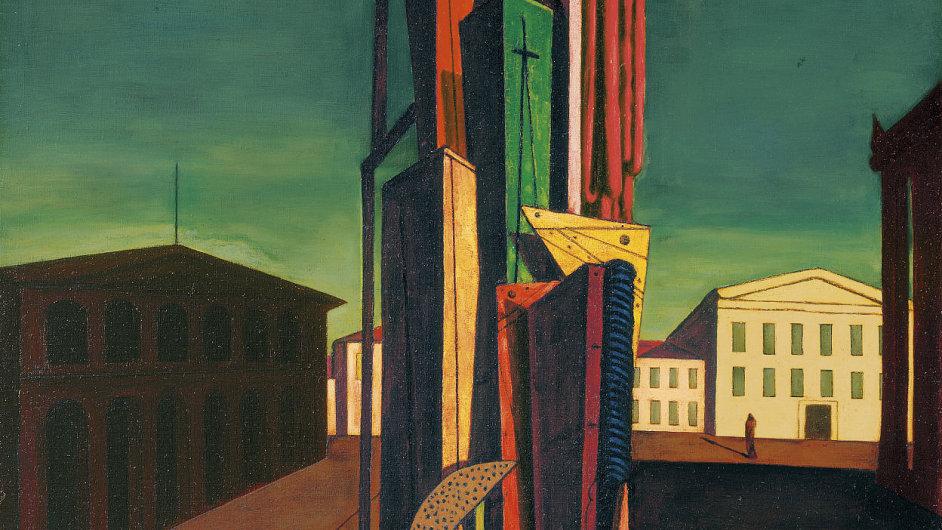 Giorgio de Chirico: Der große Metaphysiker, 1917