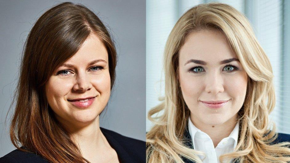 Alena Vlachová a Maria Zielińska, hotelový tým Cushman & Wakefield