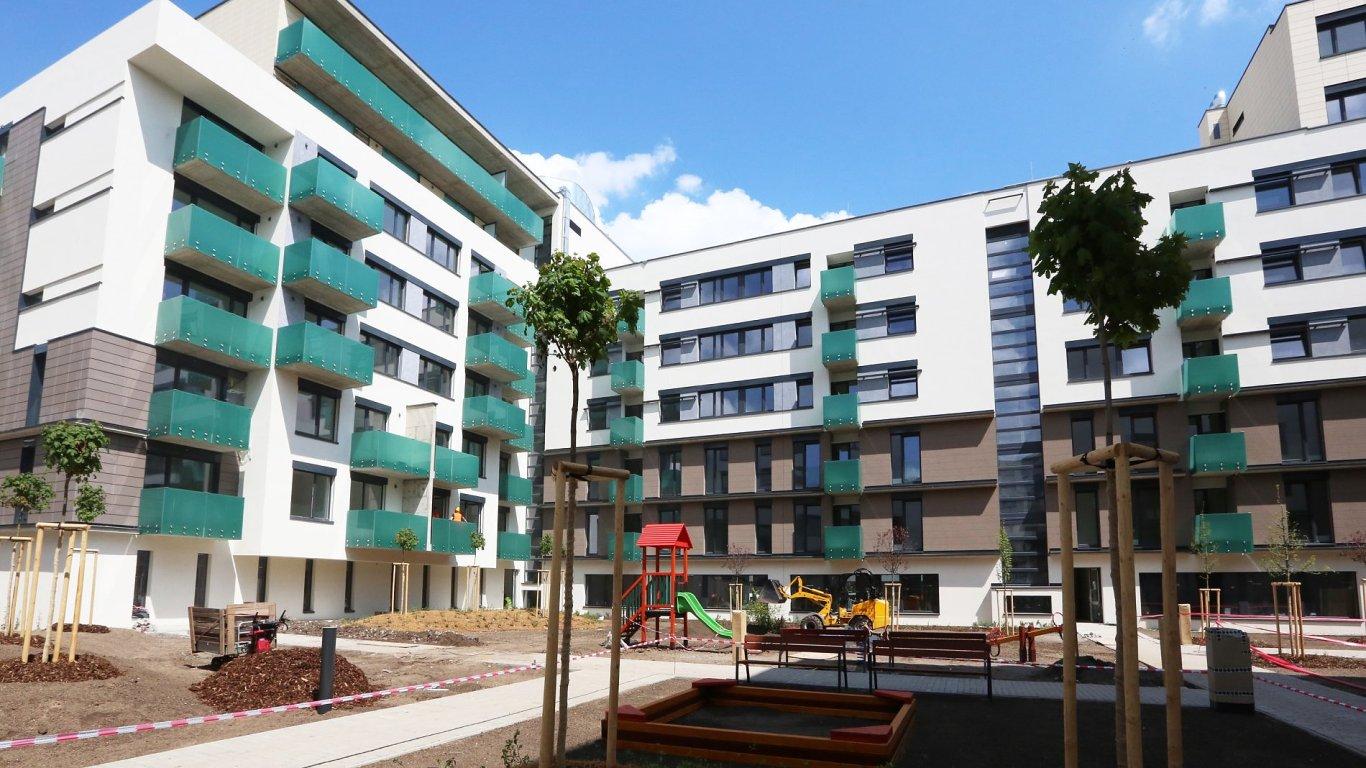 Trigema v minulém roce doprodávala byty ve svém projektu v Nových Butovicích.