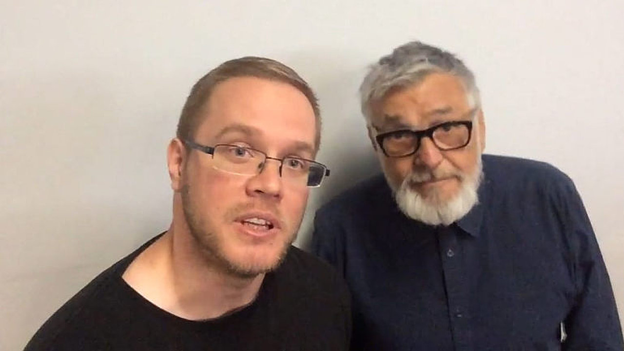 Kamil Fila při natáčení potkal Jiřího Bartošku.