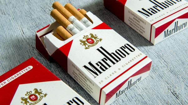 K nejvíce padělaným cigaretám patří oblíbená značka Marlboro.