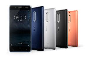 Nokia 5 je slušný telefon s nadstandardním designem