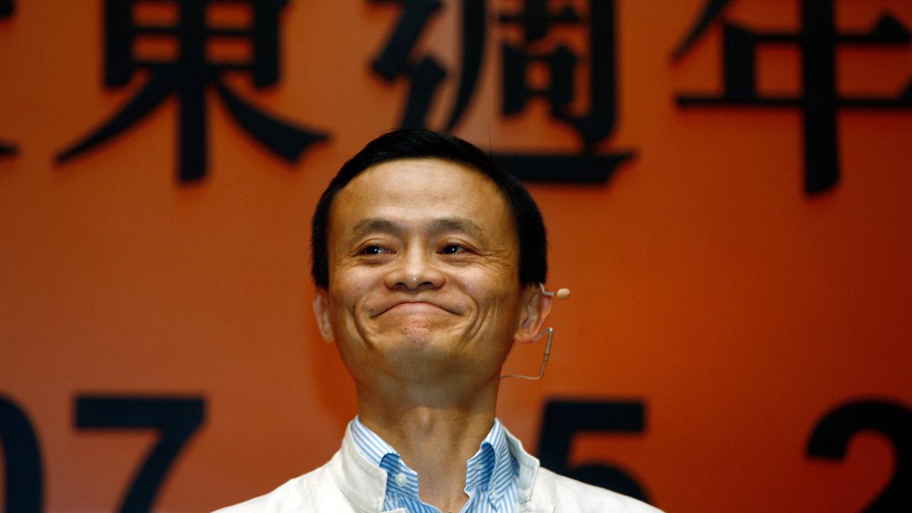 Jack Ma, zakladatel společnosti Alibaba