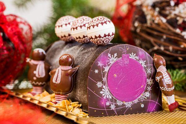 """Vánoční """"polínko"""" Bouche de Noel Grenache"""
