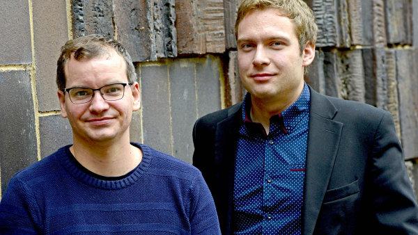 Tomáš Brabec (vlevo) a Filip Foglar