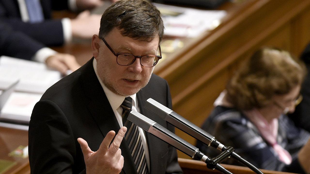 Předseda poslaneckého klubu ODS Zbyněk Stanjura