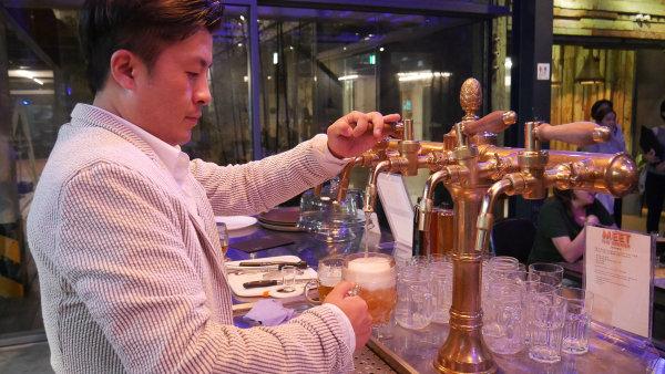 Výčepní restaurace pivovaru Praha 993.