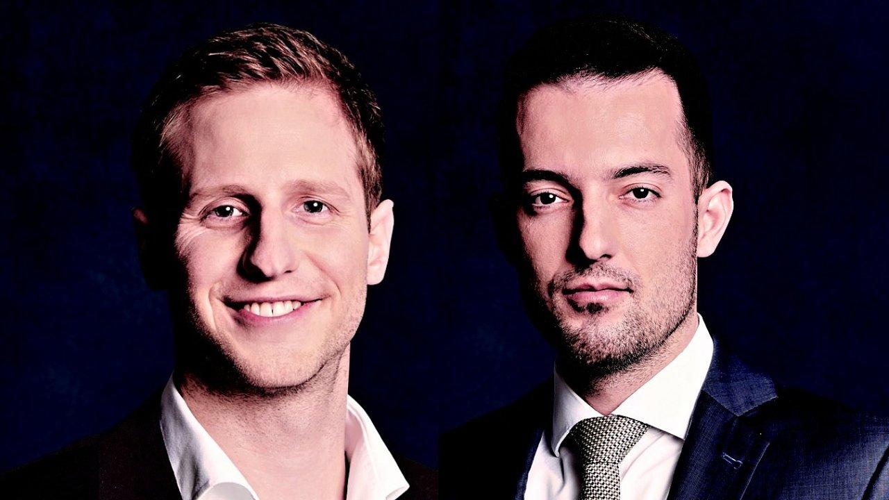 Jan Brávek a Jiří Kroc, investiční společnost Jet Investment