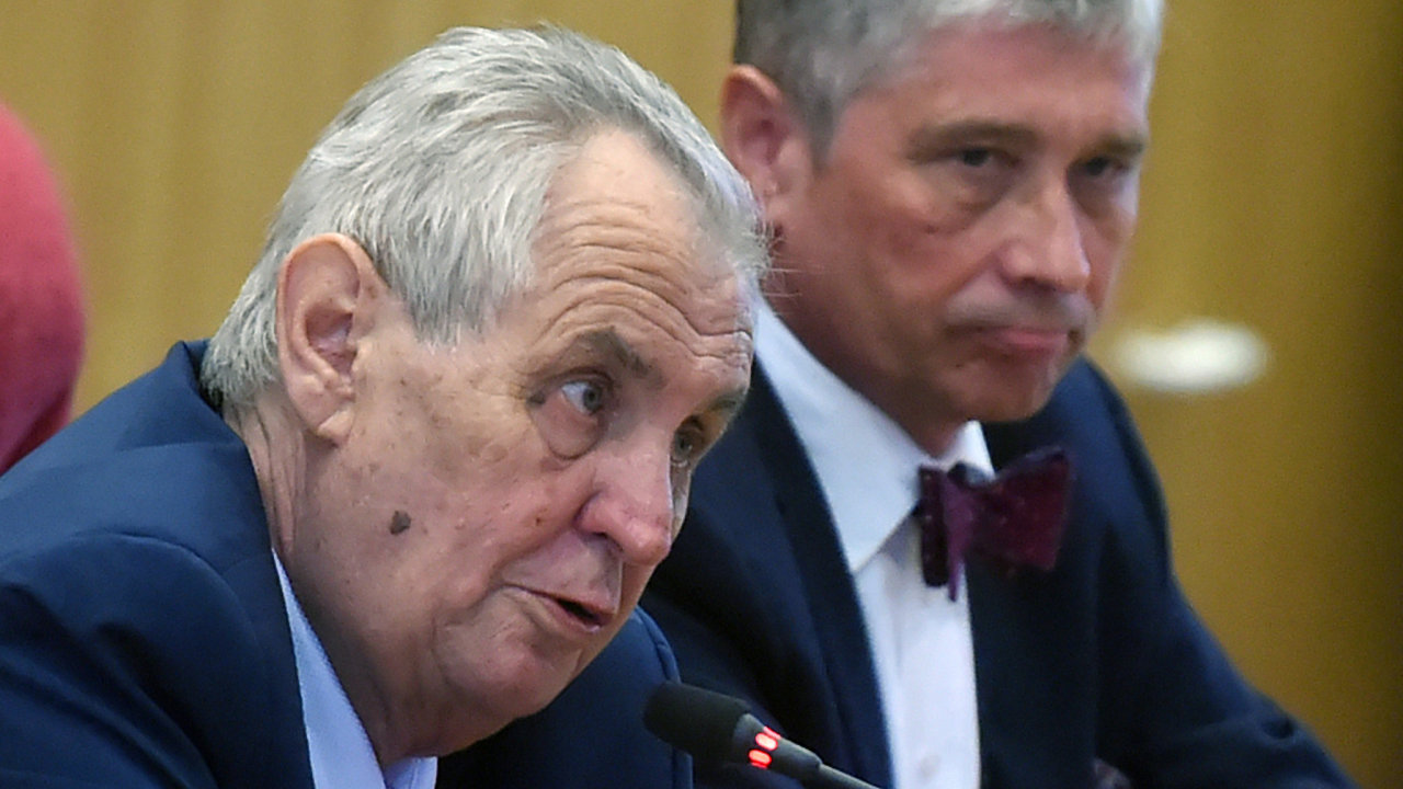 Prezident Miloš Zeman zahájil 15. května 2018 v Ostravě v krajském úřadu třídenní návštěvu Moravskoslezského kraje.