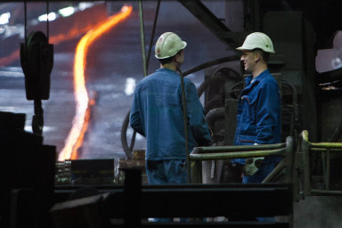 Železárny v loňském roce vyrobily 2,528 milionu tun surové oceli.