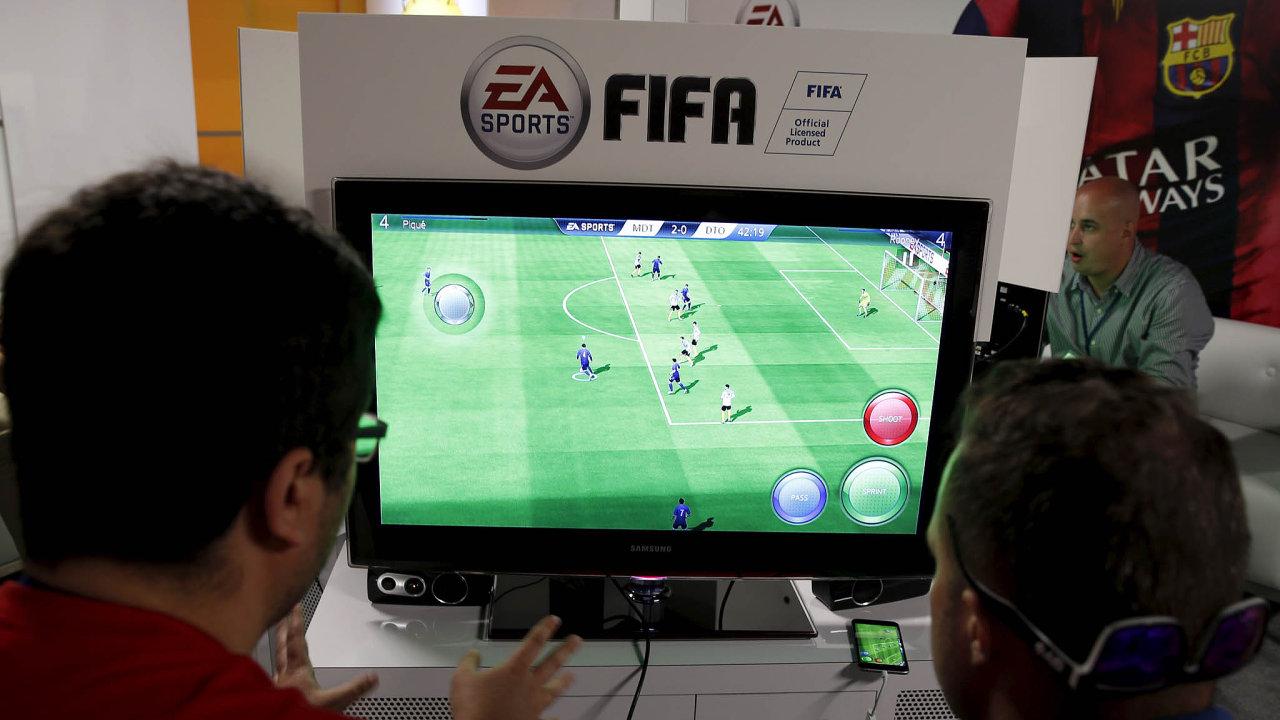 Oblíbená fotbalová hra FIFA je kvůli loot boxům terčem kritiky.