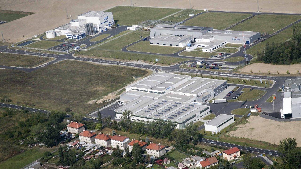 O vstup do chebské průmyslové zóny (na snímku ze 4. září) má zájem další investor z textilního průmyslu.