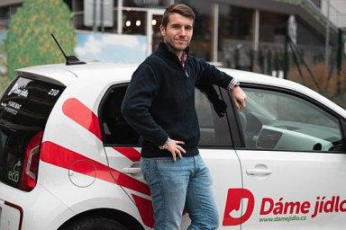 Filip Fingl bude novým výkonným ředitele zprostředkovatel a rozvozce jídla z restaurací Dáme jídlo.