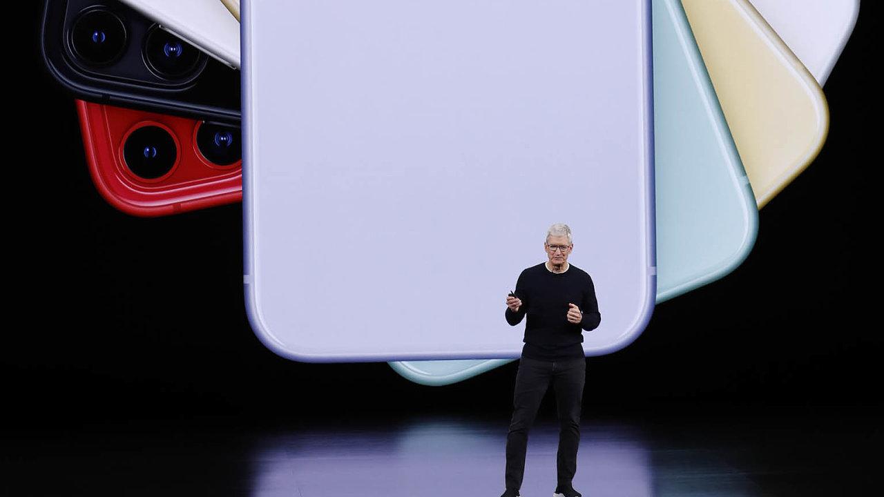 Americká technologická společnost Apple naprezentaci vkalifornském Cupertinu představila své novinky.