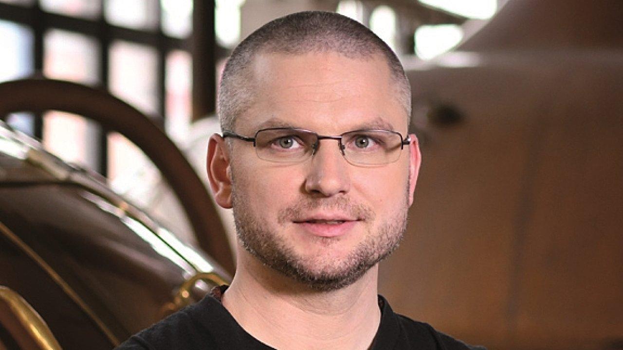 Jan Řehůřek, vrchní sládek pivovaru Ostravar
