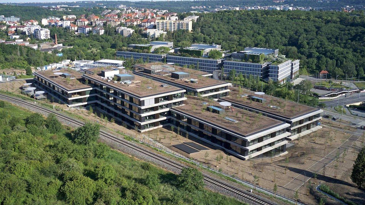 ČSOB má od léta nový Kampus v pražských Radlicích