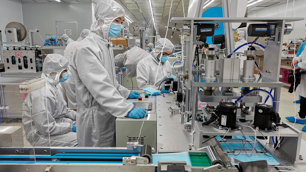 Technologický park Foxconnu v Číně
