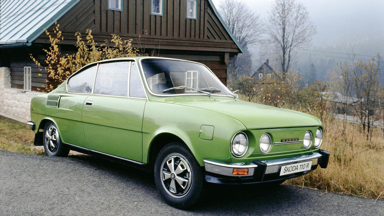 Napočátku 70. let byla Škoda 110R Coupéžádaným vývozním artiklem. Odeset let později zní byl ale ležák ivtehdejším Československu.