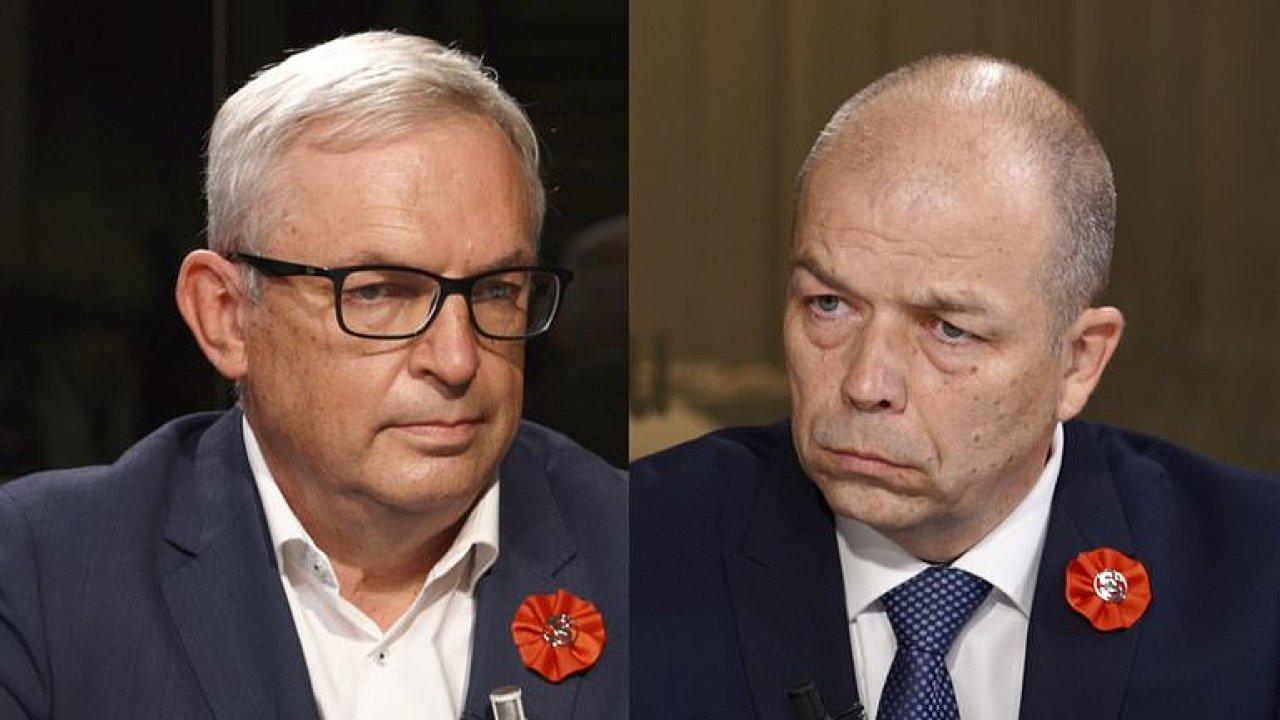 Duel: Média nás poškodila, nemají řešit rodinná nařčení, říkají Smoljak a Stehlík.