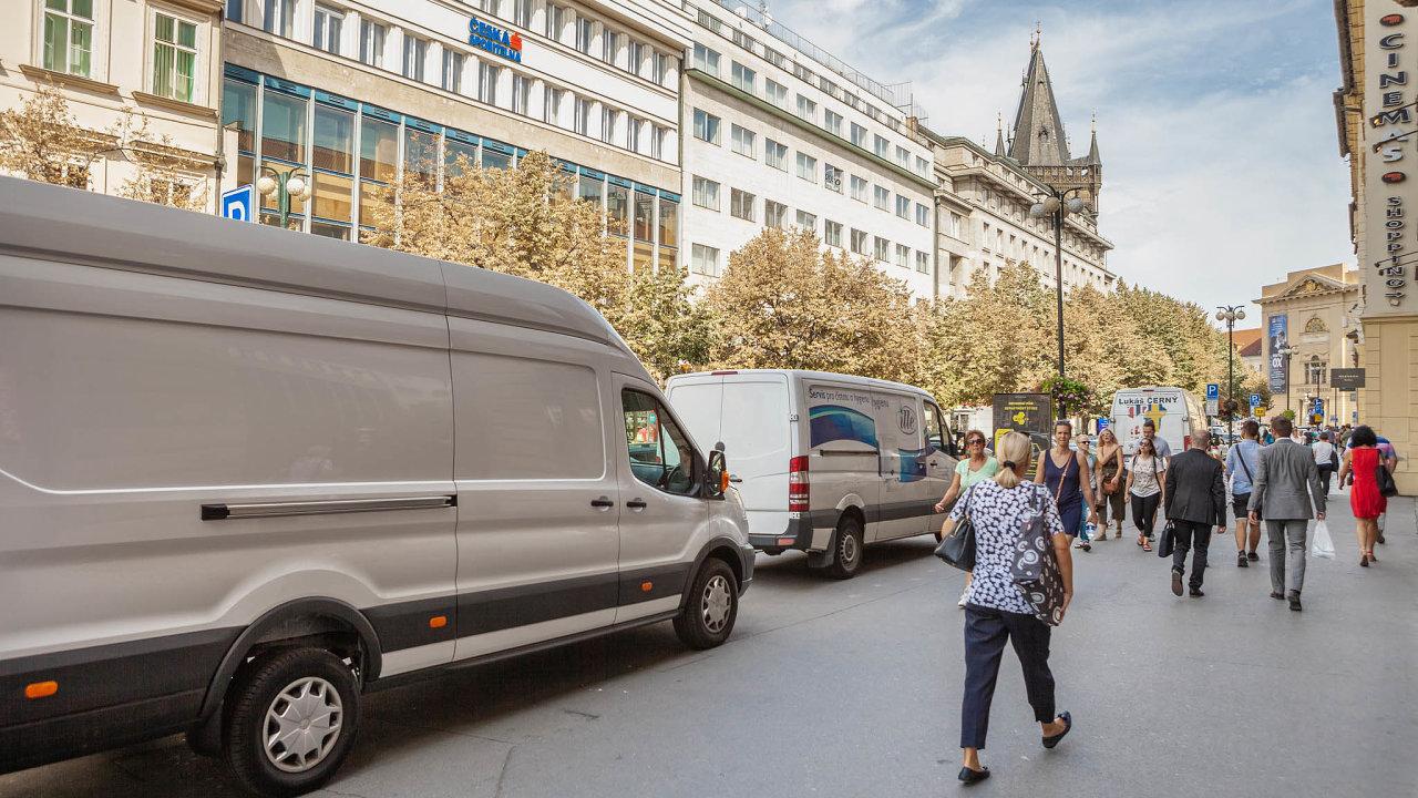 V Česku působí váce než tucet velkých firem doručujících zásilky všeho druhu (ilustrační snímek)
