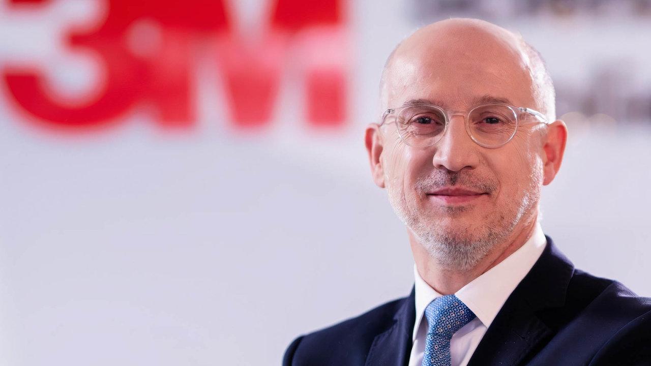 Alain Simonnet, generální ředitel 3M pro střední avýchodní Evropu.