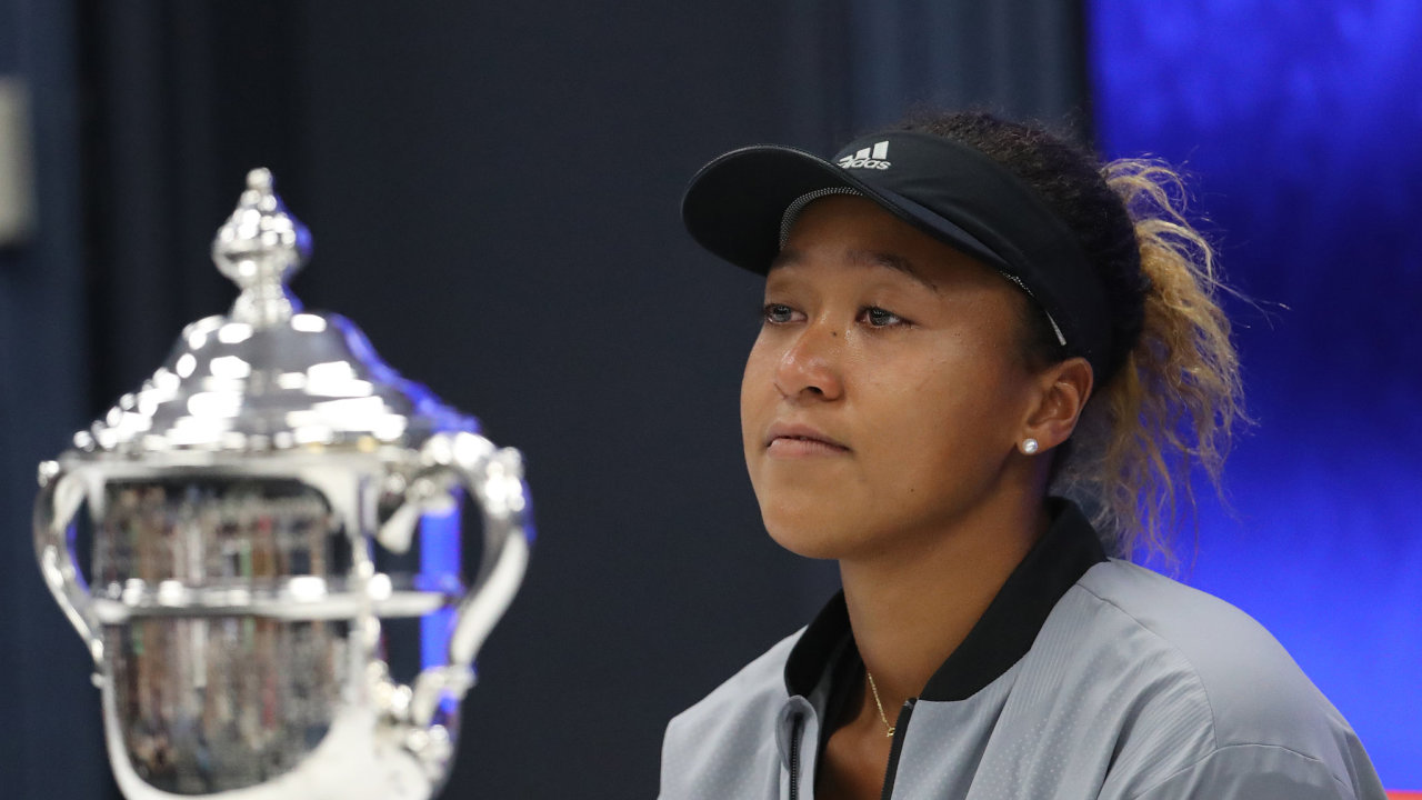 Tenistka Naomi Osakaová.