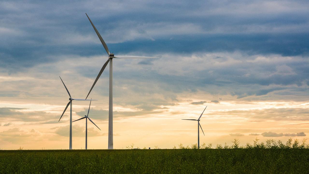Jedním z významných obnovitelných zdrojů energie jsou i větrné elektrárny.