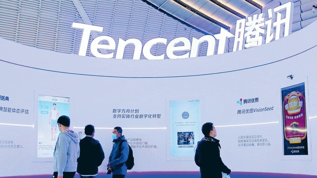Jak se loni dařilo čínskému internetovému obru Tencent?