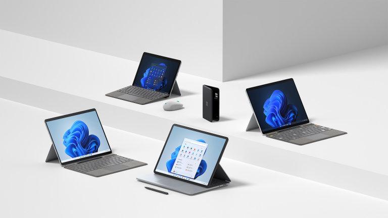 Microsoft pro Windows 11 připravil nové počítače vlastní značky Surface, a k tomu několik překvapení
